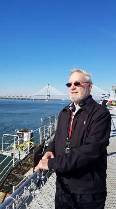 Dad on Yorktown